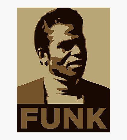 James Brown: FUNK Photographic Print