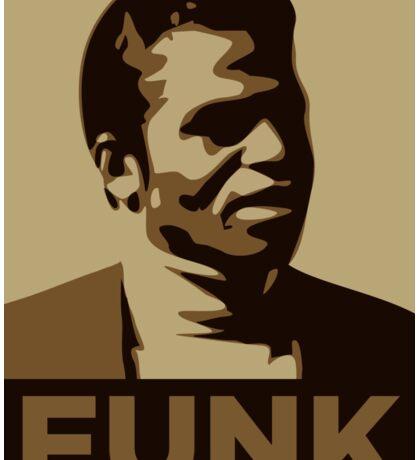 James Brown: FUNK Sticker