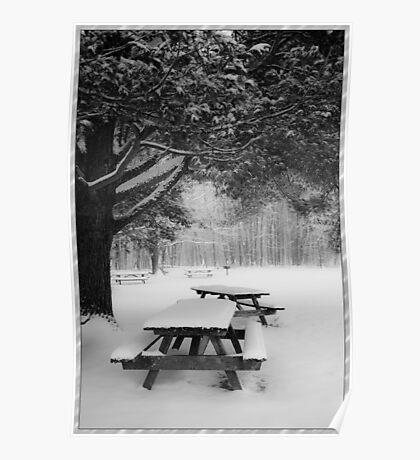 Dreamy Snowscape Poster