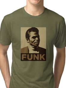 James Brown: FUNK Tri-blend T-Shirt