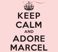 Keep Calm and Adore Marcel (LS) by rachaelroyalty