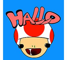 HALLO! - Toad Photographic Print