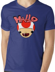 HALLO! - Toad Mens V-Neck T-Shirt