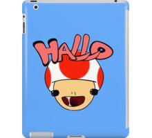 HALLO! - Toad iPad Case/Skin