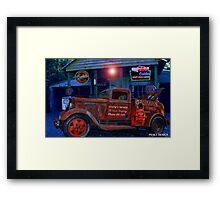 Grump's Garage  Framed Print
