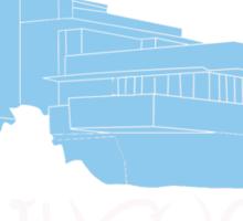 Fallingwater/ Disney //colours// Sticker