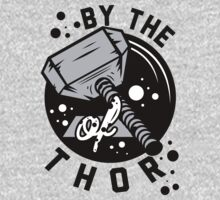 By the hammer of Thor t shirt. Kids Clothes