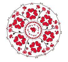 Mandala love  by ugokisai