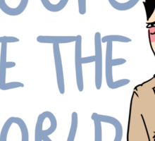 Supernatural Tropes- Woops I broke the World Sticker