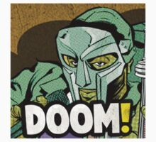 MF DOOM Comic by mylesp
