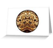 oro Greeting Card