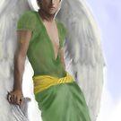 Archangel Gabriel by TriciaDanby