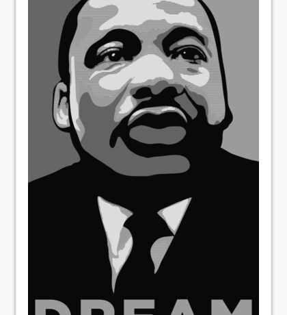 MLK: DREAM Sticker