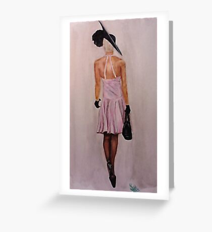 Lady Couture Greeting Card