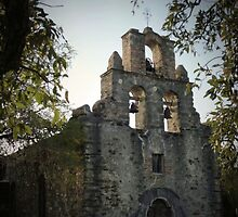 Mission Espada at Dusk by LeRoyM