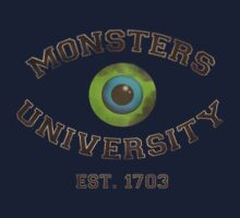 Monsters University T-shirt by Redsdesign