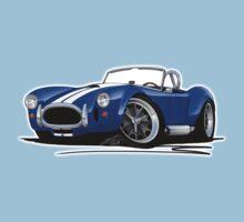 AC / Shelby Cobra Blue (White Stripes) Kids Clothes