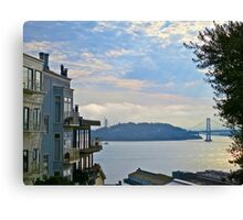 AM San Francisco Bay Canvas Print