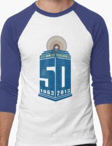 Who's turning 50 Men's Baseball ¾ T-Shirt