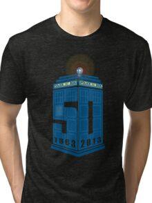Who's turning 50 Tri-blend T-Shirt
