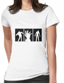 Zombies Dead Womens Fitted T-Shirt