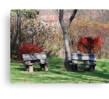 Take a load off Canvas Print