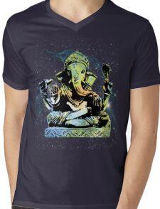 Cosmic Ganesha tee! Mens V-Neck T-Shirt