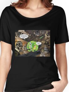Rick and Morty in the Clone Wars Women's Relaxed Fit T-Shirt