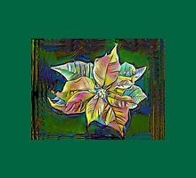 Poinsettia Art Womens Fitted T-Shirt