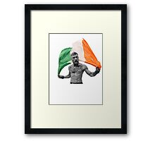 Conor McGregor UFC Fighter Irish Framed Print