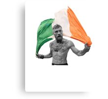 Conor McGregor UFC Fighter Irish Metal Print