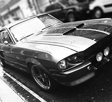 Ford Mustang - Classic by Lee Fone