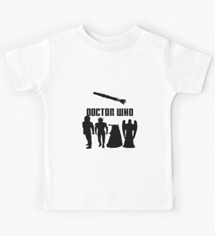 Doctor Who Monsters Kids Tee