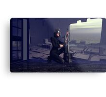 Abandoned Outpost Sniper's Hide Metal Print