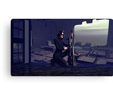Abandoned Outpost Sniper's Hide Canvas Print