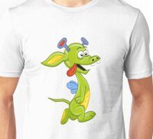 Alien monster dragon Unisex T-Shirt