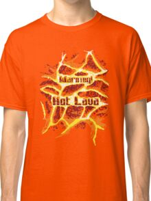 Pixel Art 2 - Warning Hot Lava! Classic T-Shirt