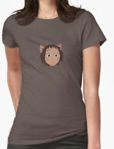 Haru, from The Cat Returns Womens Fitted T-Shirt