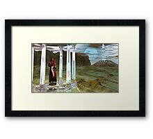 Appolonia MoonTemple High Priestess for JohnnyBoy333 Framed Print