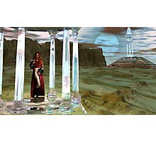 Appolonia MoonTemple High Priestess for JohnnyBoy333 Photographic Print