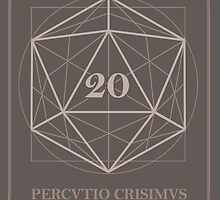 The perfect D20 by Tee NERD