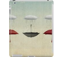 the black umbrella iPad Case/Skin
