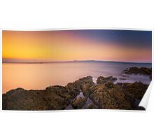 Sunset Seascape Poster