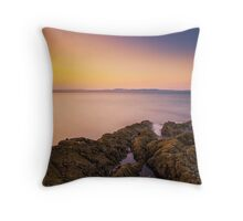Sunset Seascape Throw Pillow