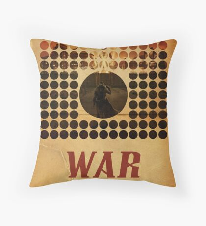War Never Changes Throw Pillow