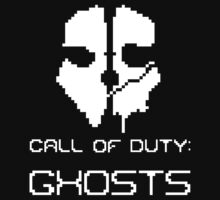 Pixel Call Of Duty Ghosts shirt/sticker by Steelgear24