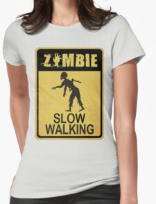 Allert Zombie Womens Fitted T-Shirt
