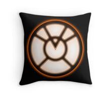 Orange Lantern Corpse - Greed!  Throw Pillow