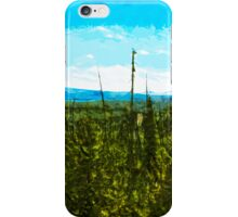 Yellowstone National Park Abstract Impressionism 8 iPhone Case/Skin