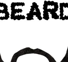 Bow To The Beard Sticker